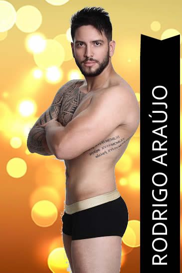 Rodrigo Araújo - Mister Distrito Federal 2015 for Mister Universo Brasil 2015