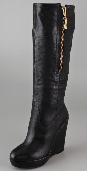 Brix Wedge Boots