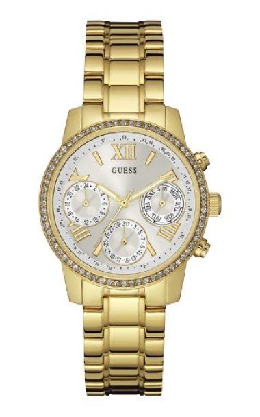4eaf384fd91 92535LPGSDA4 Relógio Feminino Dourado Guess