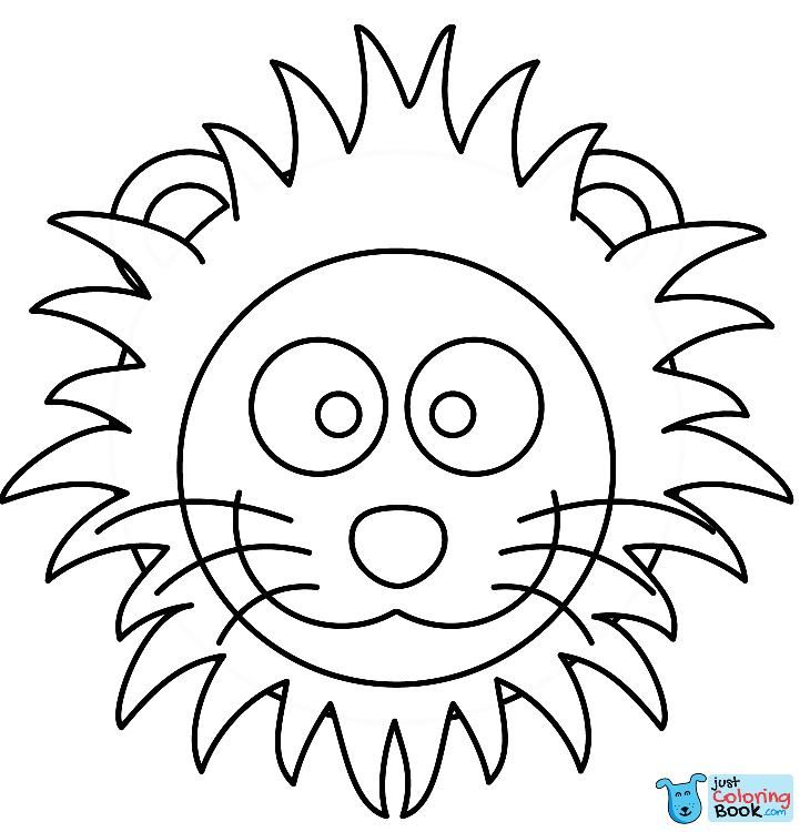 Animal Face Coloring Pages Unique 112 Best Lions and Tigers Images ... | 750x721