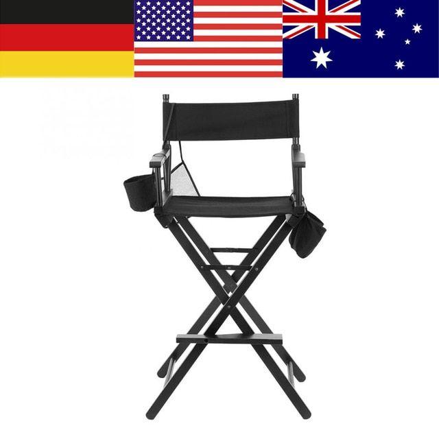 High Aluminum Frame Makeup Artist Director Chair Foldable Outdoor