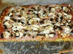 Cuketová pizza - zcela bez mouky