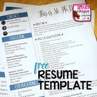 Free resume templates and ideas for a creative teacher resume.