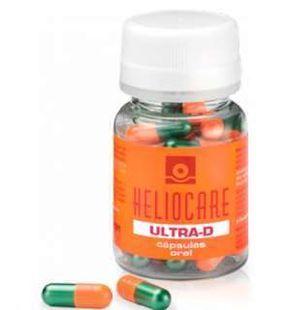 #Heliocare Oral Ultra D es un complemento que te protege de sol y es el único que viene con vitamina D que te ayuda a obtener un bronceado natural. Su composición viene enriquecida con el sistema Fernblock que refuerza las defensas naturales de la dermis, repara y protege el ADN celular, previene el eritema y combate los radicales libres. Además, viene enriquecido con antioxidantes que intensifican el efecto fotoinmunoprotector; y luteína que fortalece la mucosa ocular.