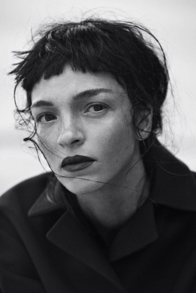 Mariacarla Boscono by Peter Lindbergh.