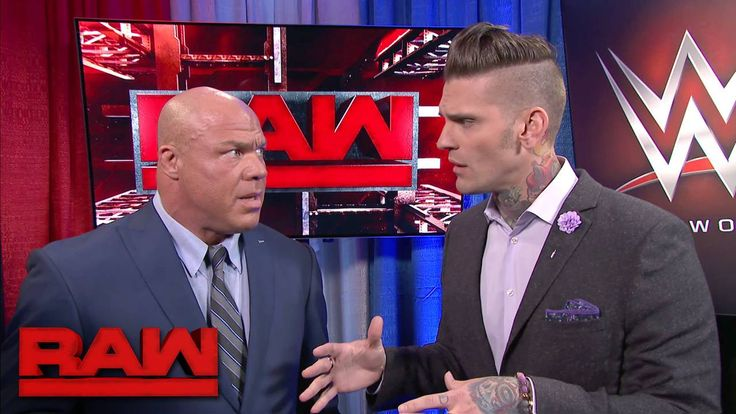 Corey Graves seems to have found some scandalous information about WWE Raw General Manager Kurt Angle...