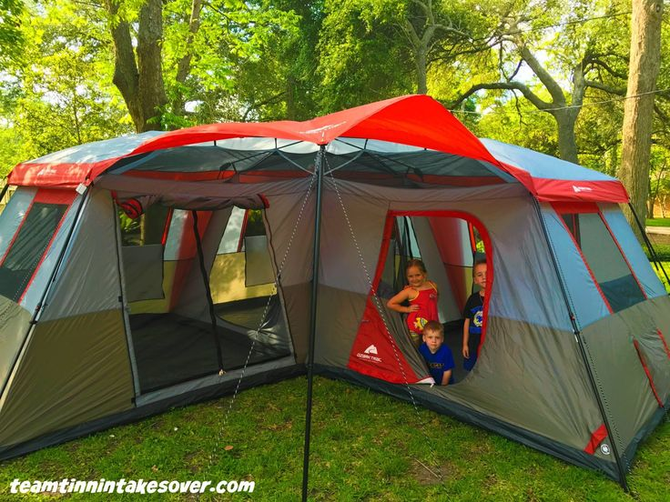 Ozark Trail 12 Person L Shaped Instant Cabin Tent Review
