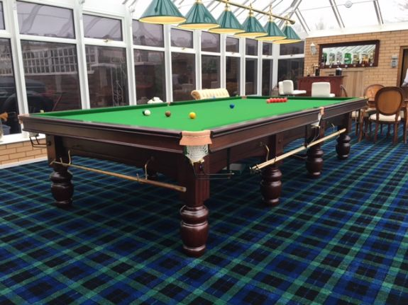 Riley Club Mahogany Snooker Table