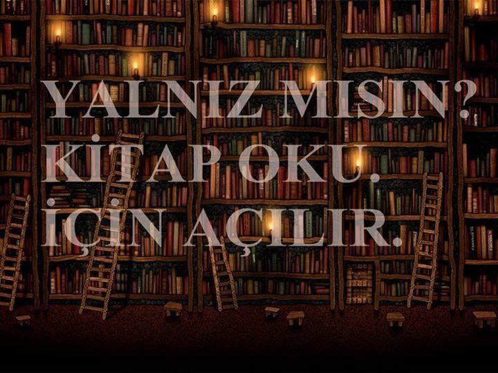 Yalnız mısın? Kitap oku. İçin açılır.