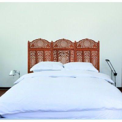 Les 25 meilleures id es concernant stickers tete de lit - Creer une tete de lit originale ...