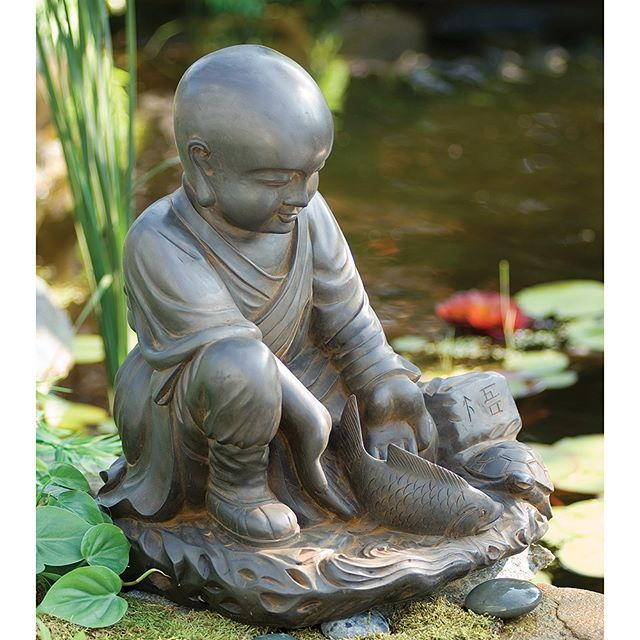 Check Out The Deal On U0027May All Beings Be Freeu0027 Garden Monk Statue, Large At  DharmaCrafts