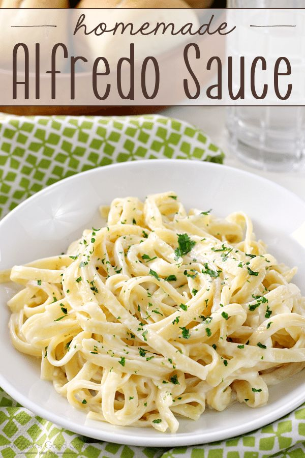 The jarred stuff doesn't even compare to Homemade Alfredo Sauce! Let me show you how quick and easy it is to make from scratch! — PIN THIS RECIPE — This recipe couldn't be easier … Four ingredients and ten minutes are all you need for Homemade Alfredo Sauce! Once you try it, I'm convinced you'll...Read More