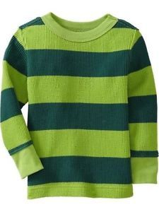 Green Striped Thermal - Matty's Steve from Blues Clues Costume