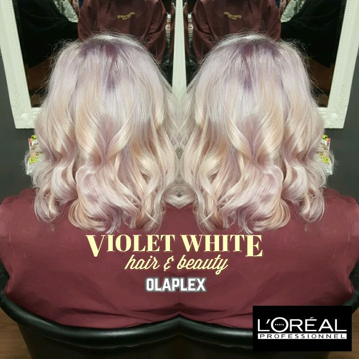 Hair By Stylist Becky Pastel Lilac