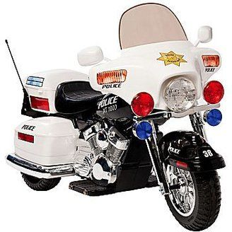 kids Ride-On Electric Police Motorcycle! | for the kids ...
