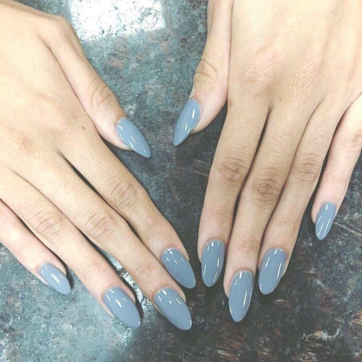 Shellac Nails Grey Nail Art #2855: magnetic designs for fascinating ladies. Take…