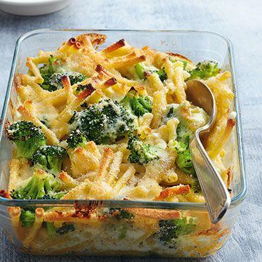 Brokkoli-Makkaroni-Auflauf Rezept | Küchengötter