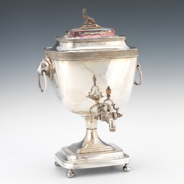 Sheffield Silver Plated Hot Water Urn