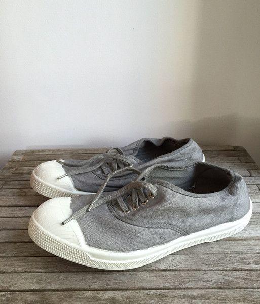bensimon sneaker: pearl grey – Pod