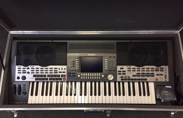 Yamaha PSR-9000 Keyboard In Heavy Duty Case