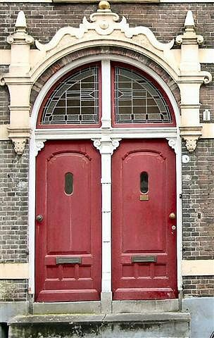 Choose your red door...  Behind one is wonder, behind the other you'll have to wonder!