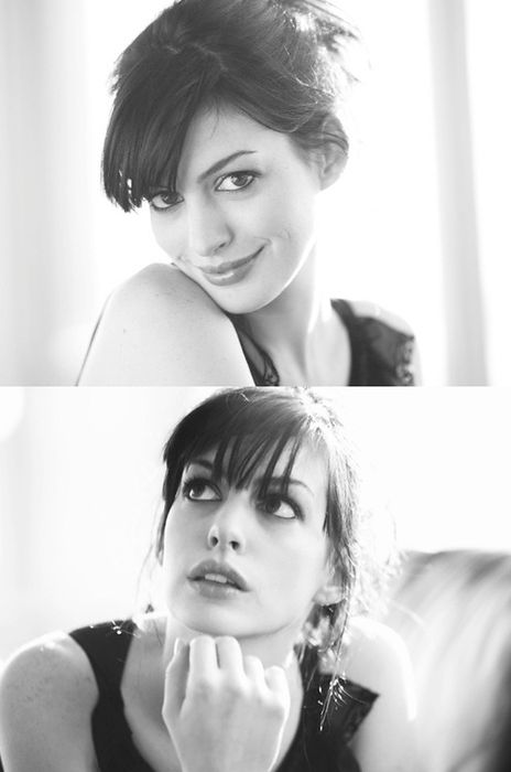 Anne Hathaway: naturally gorgeous