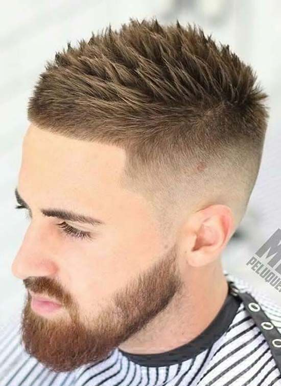 Close Cut At Bang And Longer On Top Men Hairstyle Hair Cuts