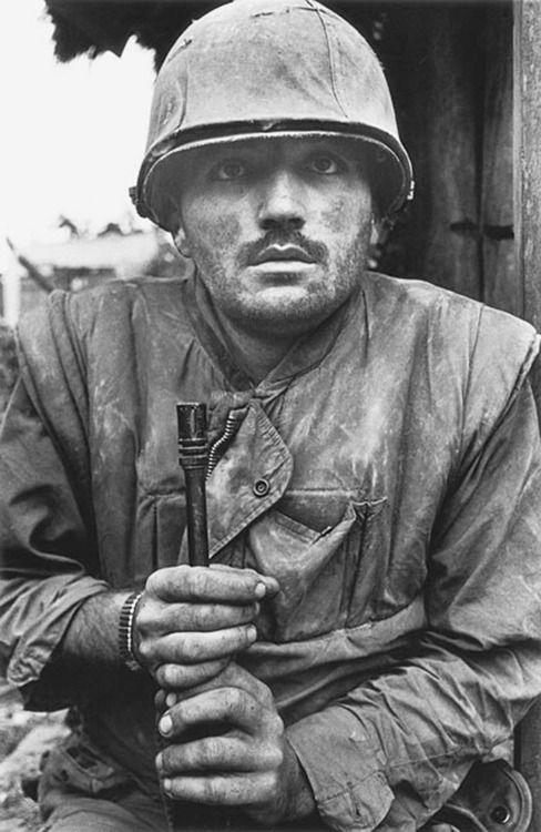 """Shell-shock"" Vietnam Soldier"