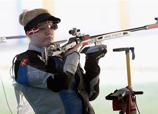 Nielsen, Stine - Shooting - Denmark - 50m Rifle 3 Positions Women - 50m Rifle 3 Pos. Women's Qualification - OSC - Olympic Shooting Centre