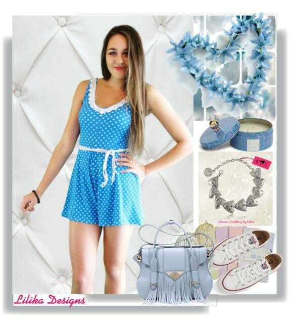 Polyvore styled! We love our playsuits shop now with 50% off www.lilikadesigns.com
