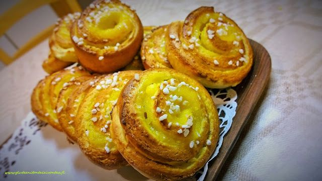 Gluteeniton vaniljapulla