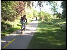 Bike trails in Fort Collins