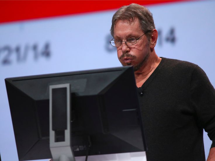 Larry Ellison won't get paid any more equity unless he gets Oracle's stock up to $80 (ORCL)