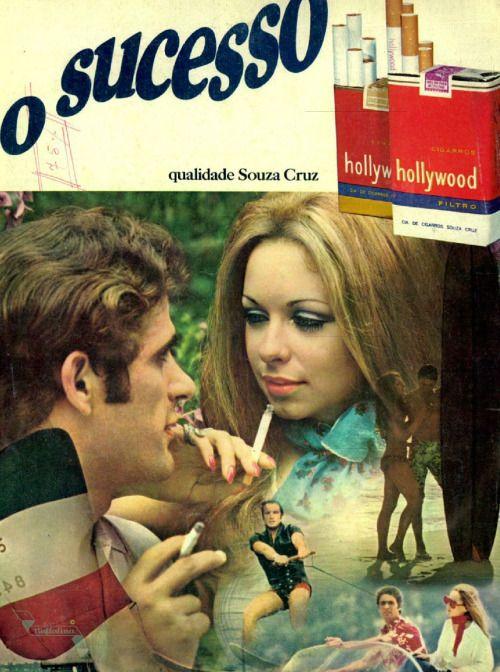 Cigarros Hollywood, a época em que tudo era permitido #Brasil  #anos60  #retro