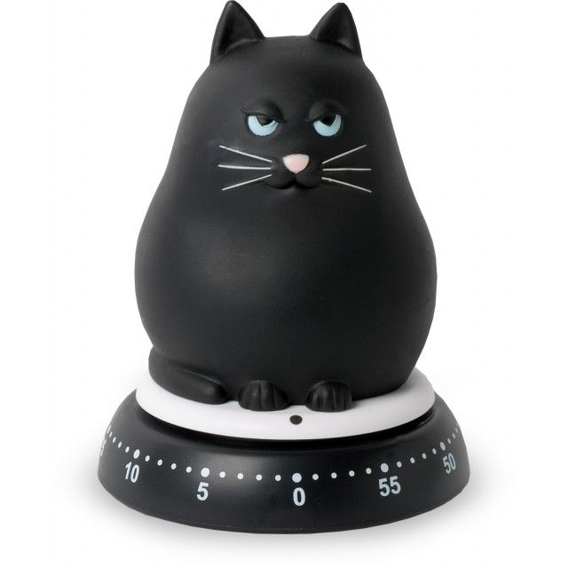 Black Cat Kitchen Timer