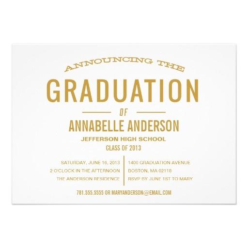 48 best Graduation announcements images on Pinterest Graduation - fresh graduation invitation maker online free