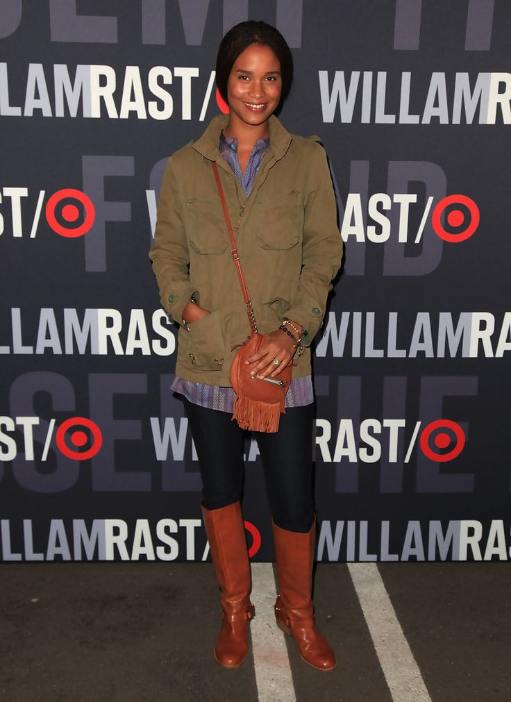 Joy Bryant - Target & William Rast Celebrate The Launch Of Their Limited Edition Collection blackwomeninboots.blogspot.com