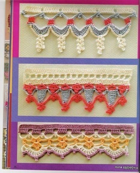 Crochet Edgings - Chart