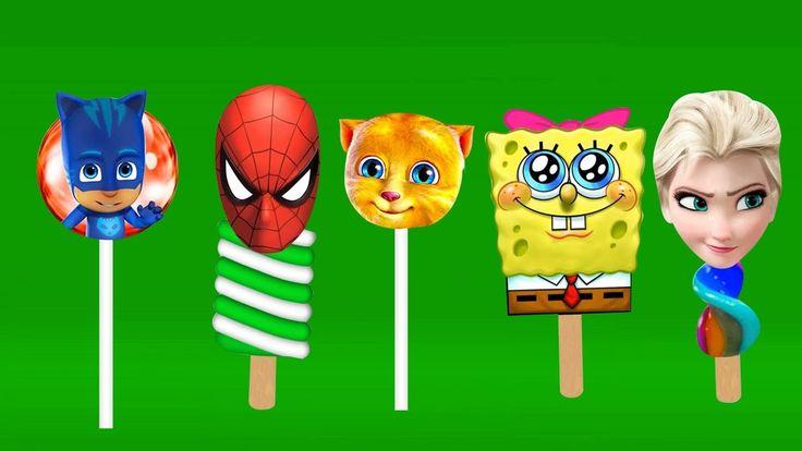 Superheroes Lollipop Finger Family | Top 10 Finger Family Nursery Rhymes Lyrics