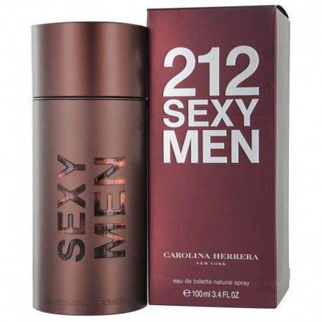 Perfume 212 Sexy Men de Carolina Herrera para hombre 100ml