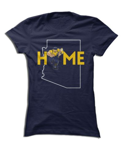 Northern Arizona University - Home With State Outline