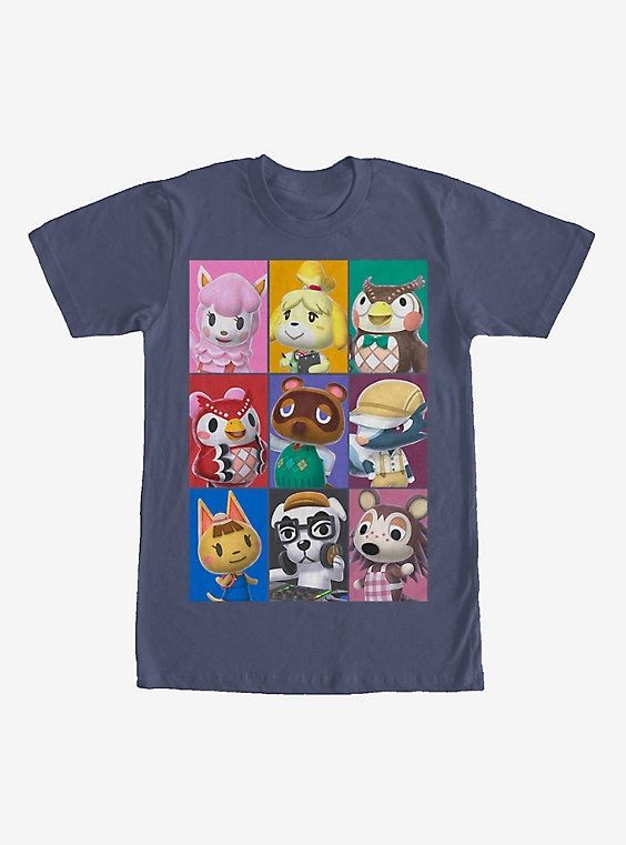 New Animal Crossing: New Horizons Shirts Are Available At