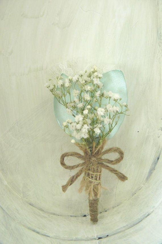 there is no need for constant big bouques... Sometimes... something small and simple just to say i missed you would be as sweet... =) baby's breath boutonniere