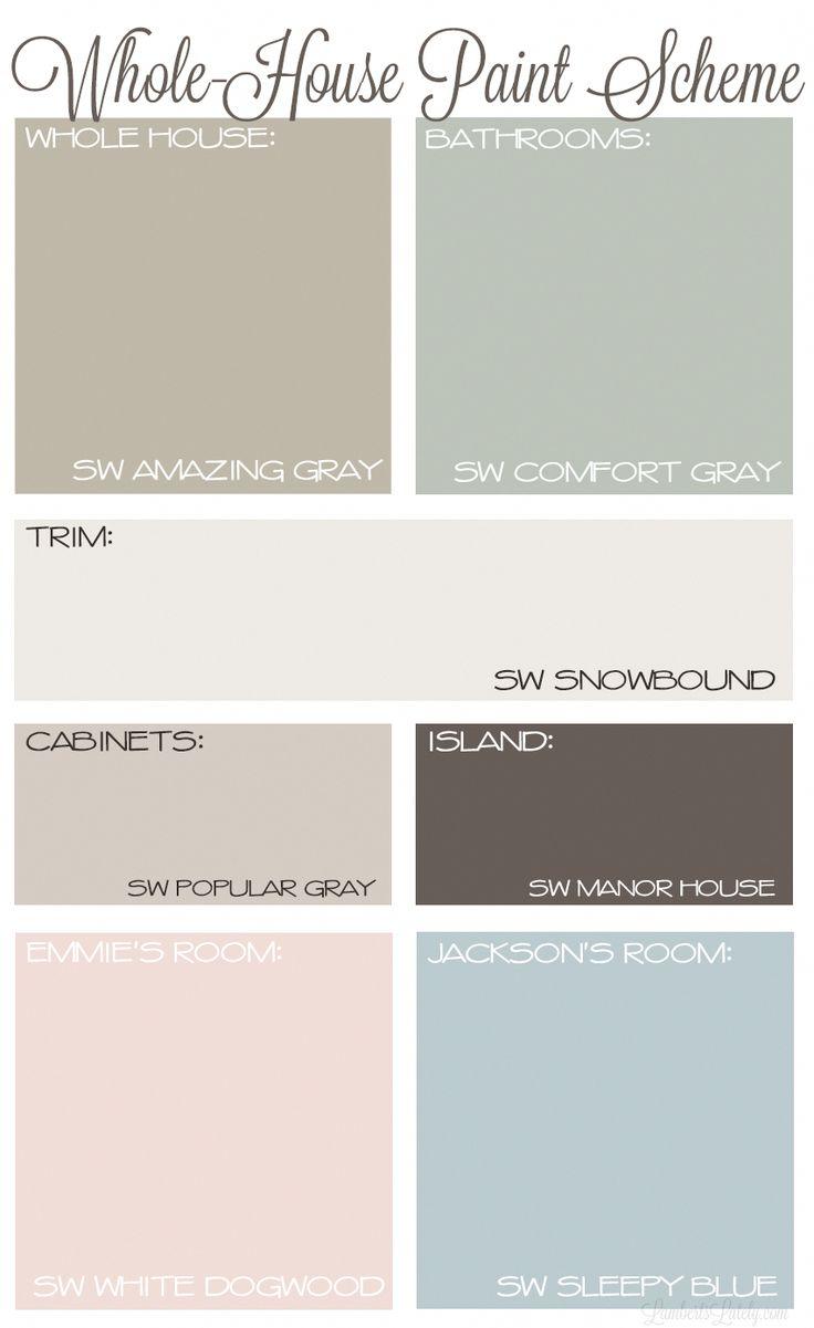 Living Room Paint Color Ideas Farmhouse Fixer Upper