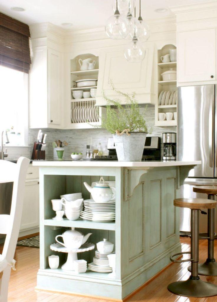Die besten 25+ Kleine küche mit insel Ideen auf Pinterest Küchen - nobilia küchen katalog