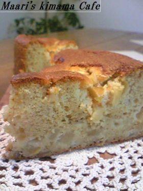 「米粉のメープルりんごのオーガニックケーキ」まぁり | お菓子・パンのレシピや作り方【corecle*コレクル】