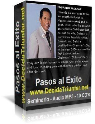#EduardoSalazar - Los pasos al exito 10. Hecho en 2002. #Herbalife