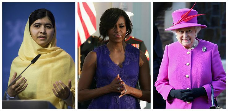 Les femmes influentes dans le monde