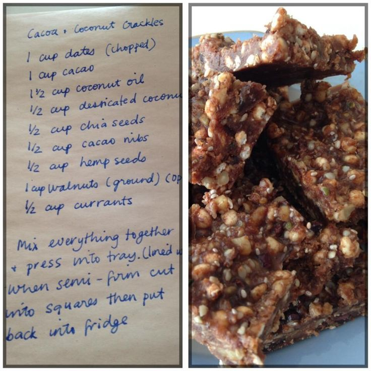 Healthy Chocolate Crackles | Janella Purcell #vegan #vegetarian #dairyfree