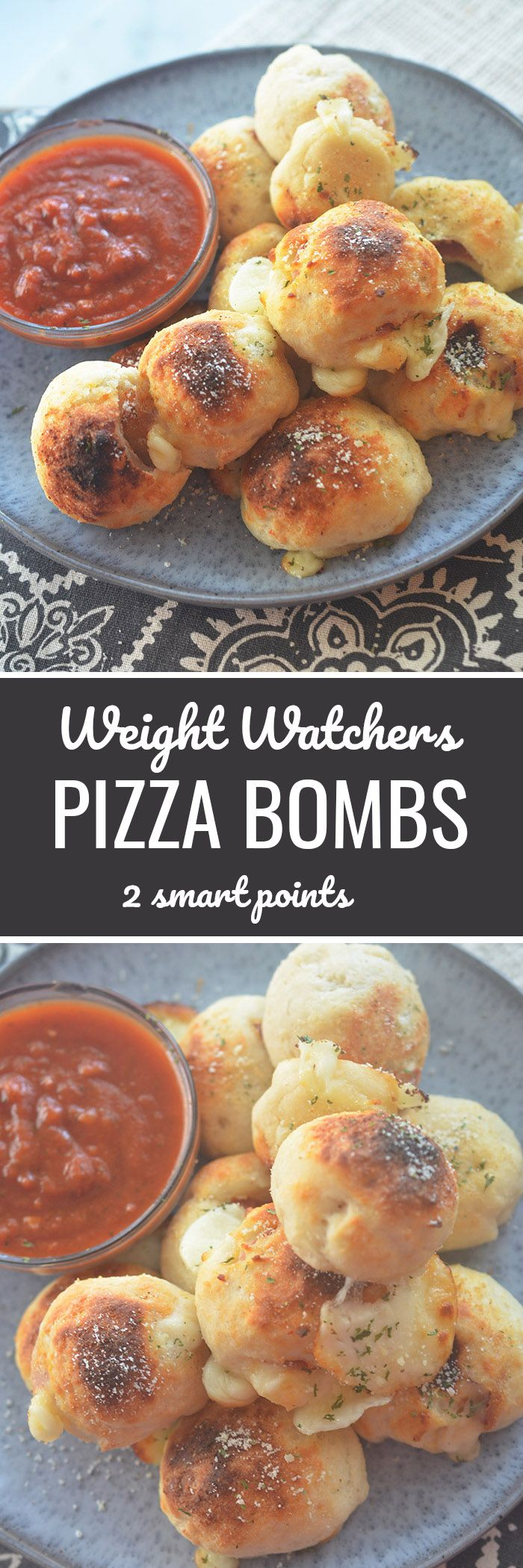 Weight Watchers Pizza Bombs 2 smart points - Recipe Diaries #weightwatchers #pizza #pizzaparty #healthy